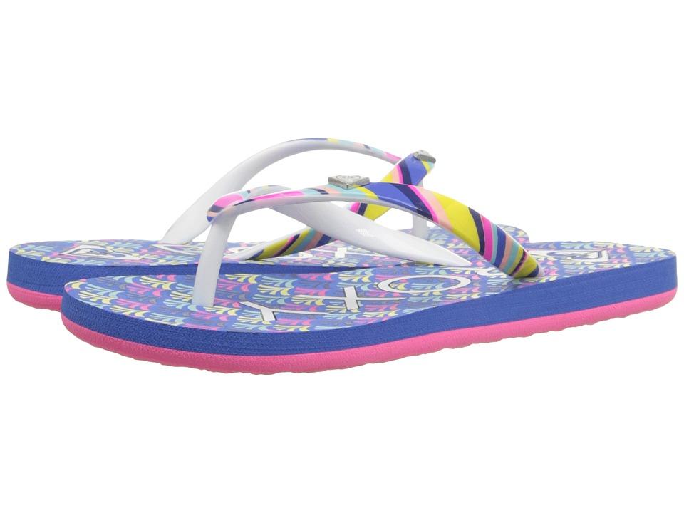 Roxy Kids Pebbles V Little Kid/Big Kid Ocean Girls Shoes