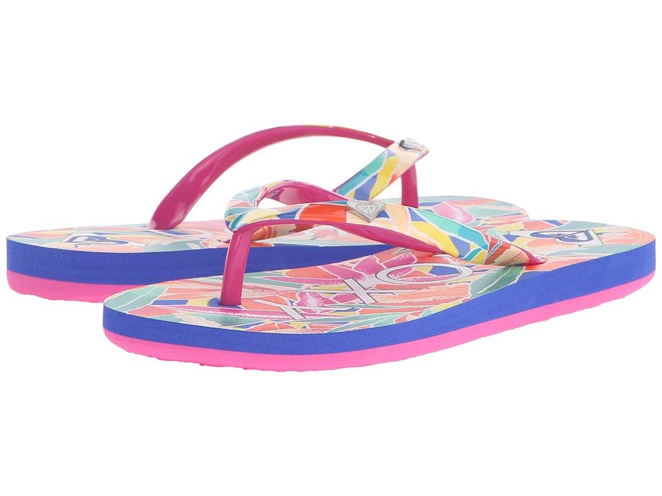 Roxy Kids Pebbles V Little Kid/Big Kid Raspberry Girls Shoes