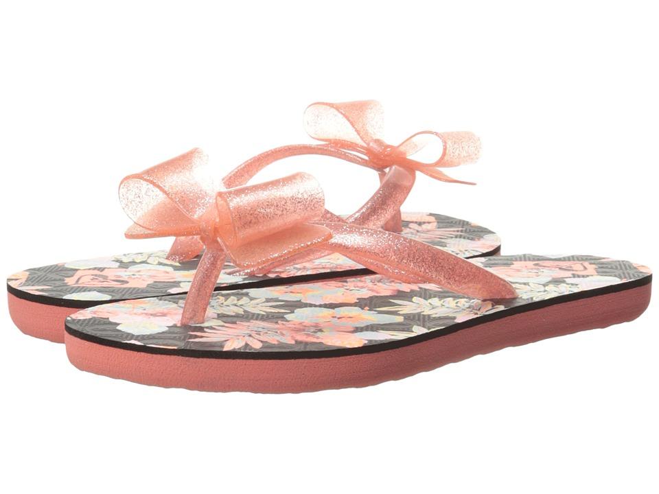 Roxy Kids Lulu II (Little Kid/Big Kid) (Peachie Peach) Girls Shoes