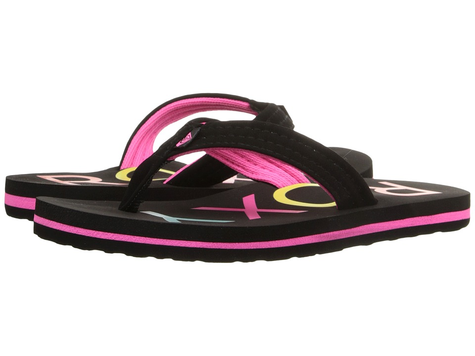 Roxy Kids Vista Little Kid/Big Kid Black Girls Shoes