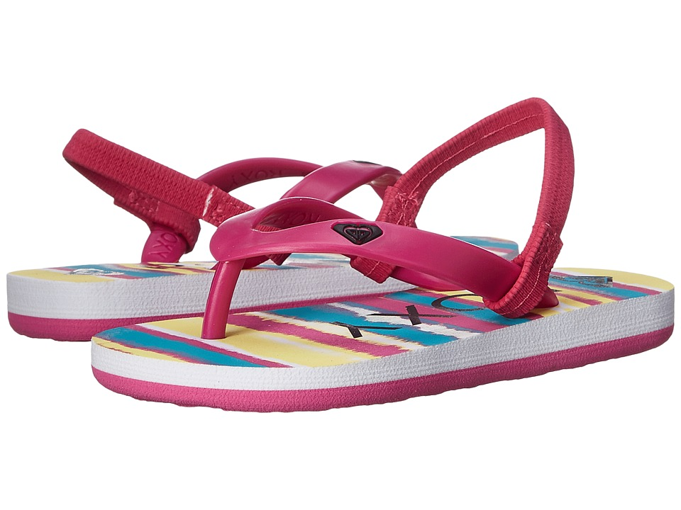Roxy Kids Tahiti V Toddler Fuchsia Girls Shoes