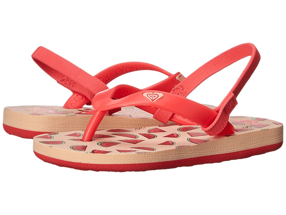 Roxy Kids Tahiti V Toddler Watermelon Girls Shoes