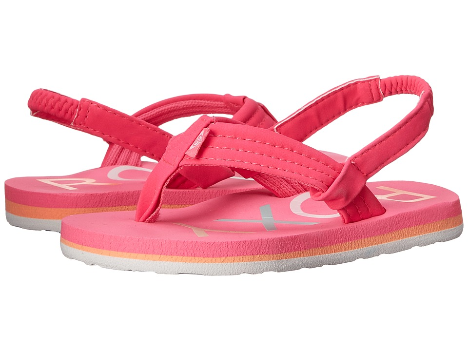 Roxy Kids Vista Toddler Hot Pink Girls Shoes