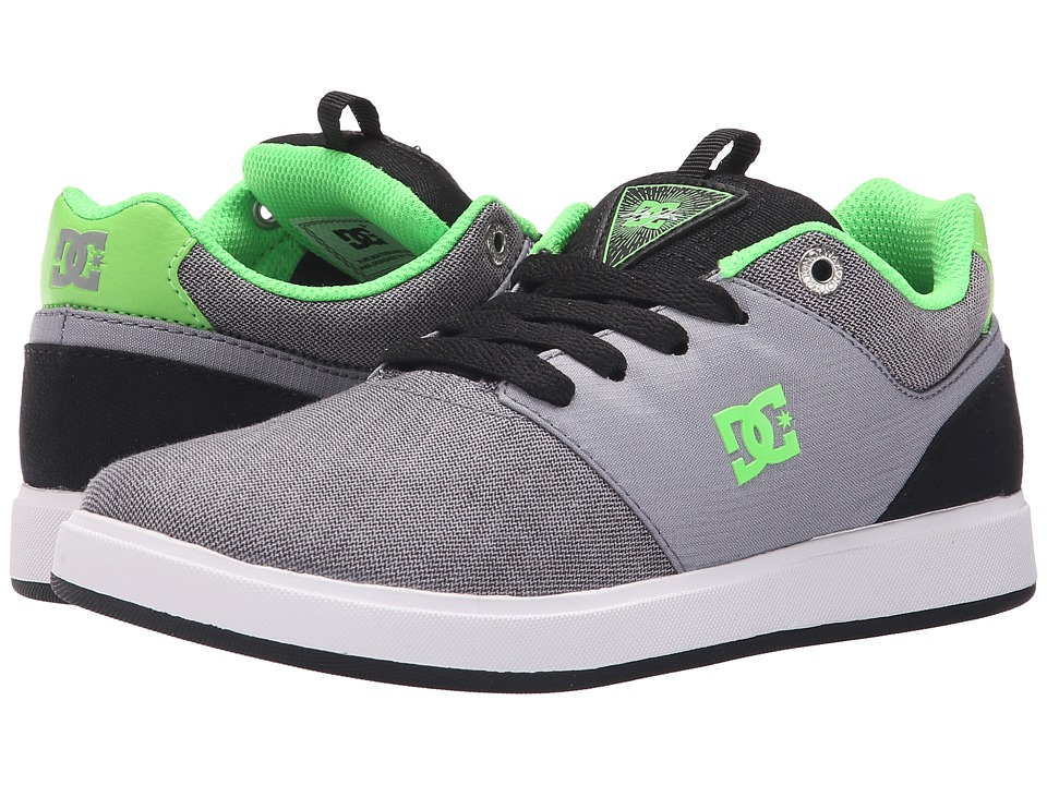 DC Kids Cole Signature TX SE Big Kid Grey/Green/Grey Boys Shoes