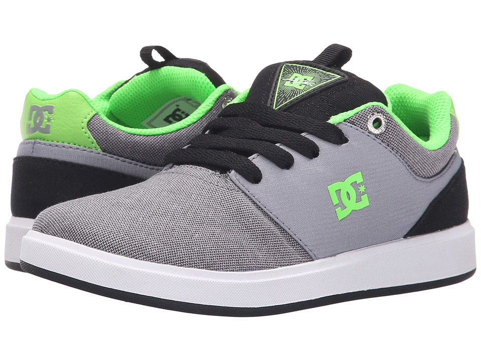 DC Kids Cole Signature TX SE Little Kid Grey/Green/Grey Boys Shoes