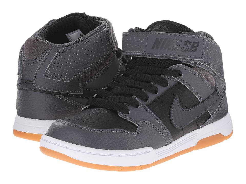 Nike SB Kids Mogan Mid 2 Jr Little Kid/Big Kid Black/Dark Grey/White/Anthracite Girls Shoes