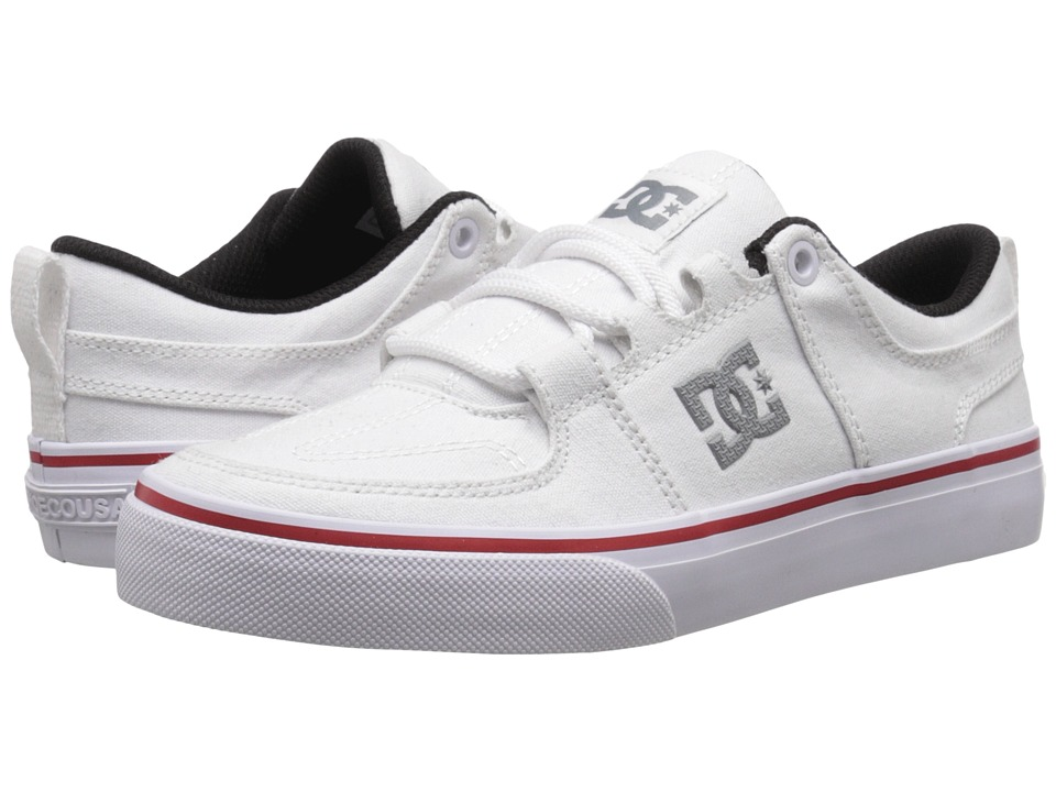 DC Kids - Lynx Vulc TX (Big Kid) (White) Kids Shoes