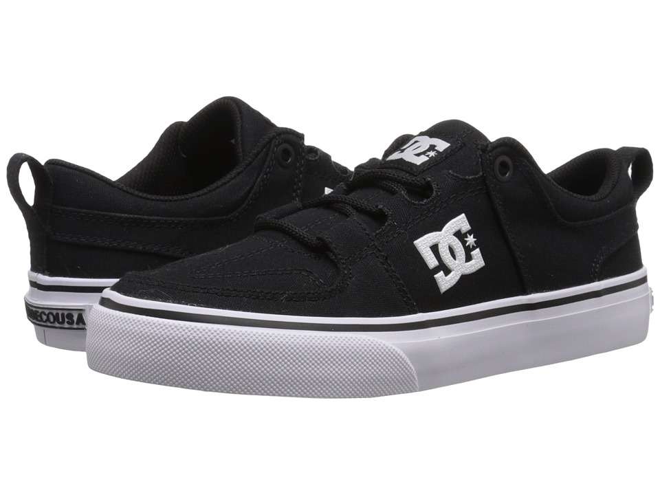 DC Kids - Lynx Vulc TX (Big Kid) (Black) Kids Shoes