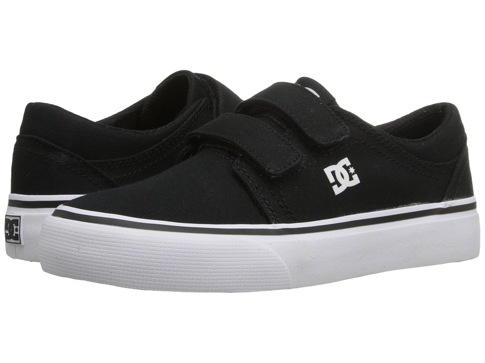 DC Kids - Trase V (Little Kid) (Black/White) Kids Shoes