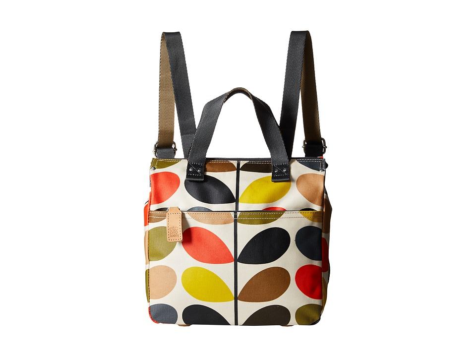 Orla Kiely Small Backpack (Multi) Backpack Bags
