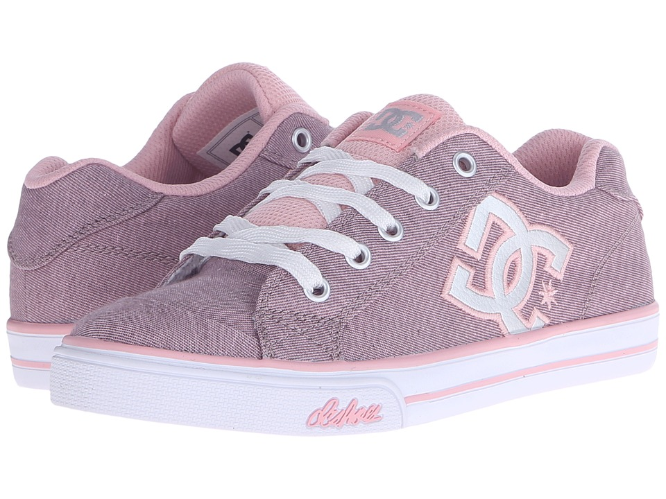 DC Kids Chelsea TX SE Big Kid Pink/Silver Girls Shoes