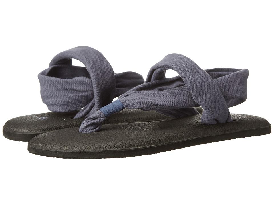 Sanuk Yoga Sling 2 (Slate Blue) Sandals