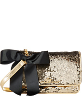 My Flat In London - Sparkle Small Sequin Flap Bag