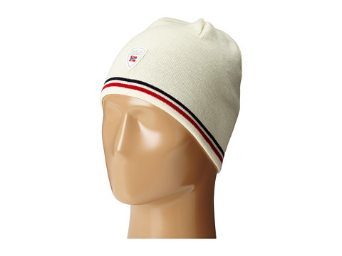 Dale of Norway Flagg Hat - Off White/Raspberry/Navy