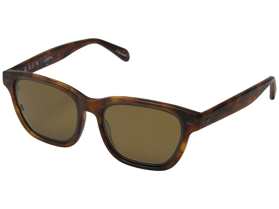 RAEN Optics Lyon Matte Rootbeer Fashion Sunglasses