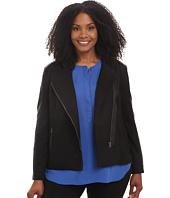 NYDJ Plus Size - Plus Size Ponte Moto Jacket