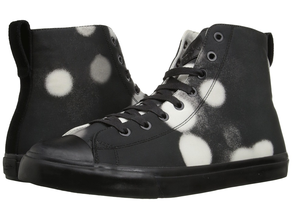 Paul Smith - Jeans Allegra Shadow Spot High Top (Black/White) Men