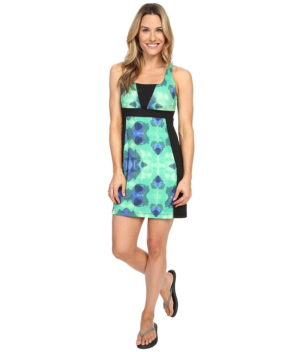 Skirt Sports Electric Dress Emerald City Print/Black Womens Dress