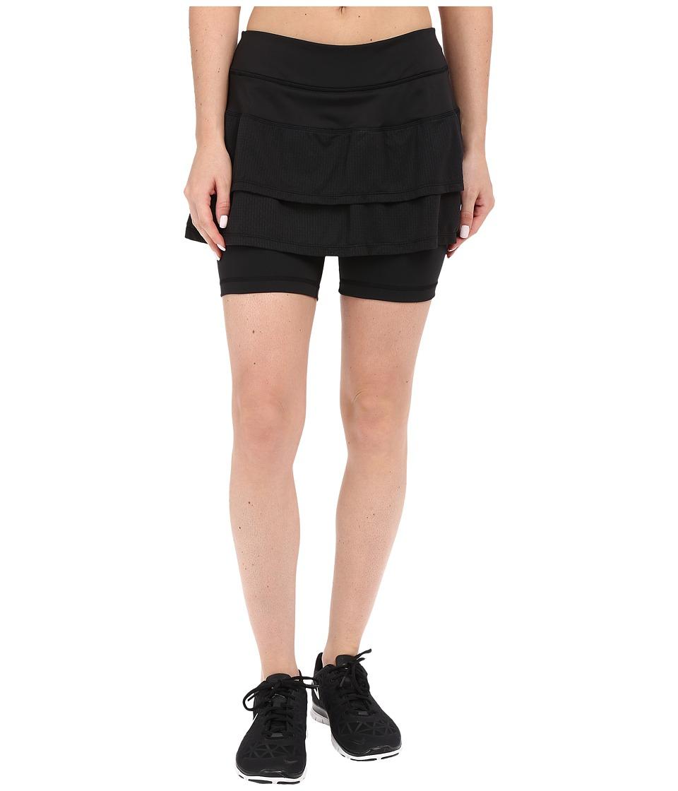 Skirt Sports Cascade Skirt Black Womens Skort