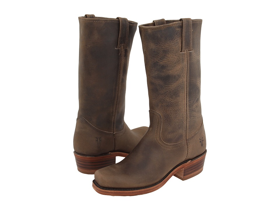 Frye - Cavalry W (Tan Leather) Cowboy Boots