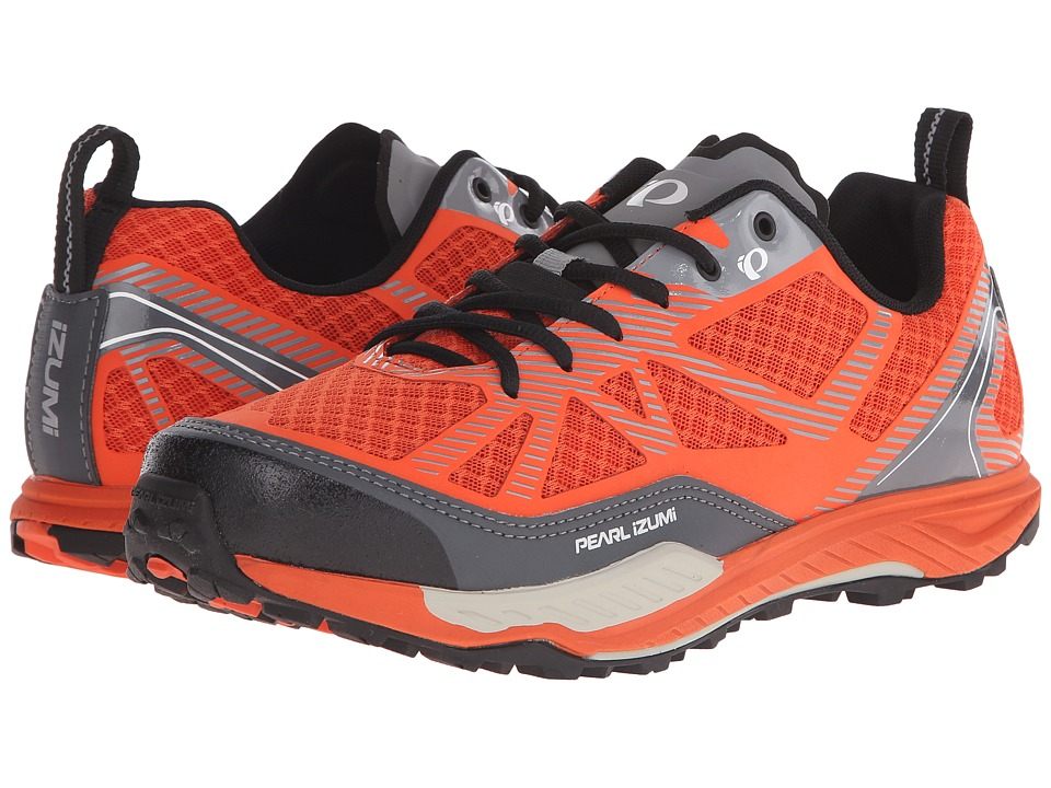 Pearl Izumi - X-Alp Seek VII (Red Orange) Mens Cycling Shoes