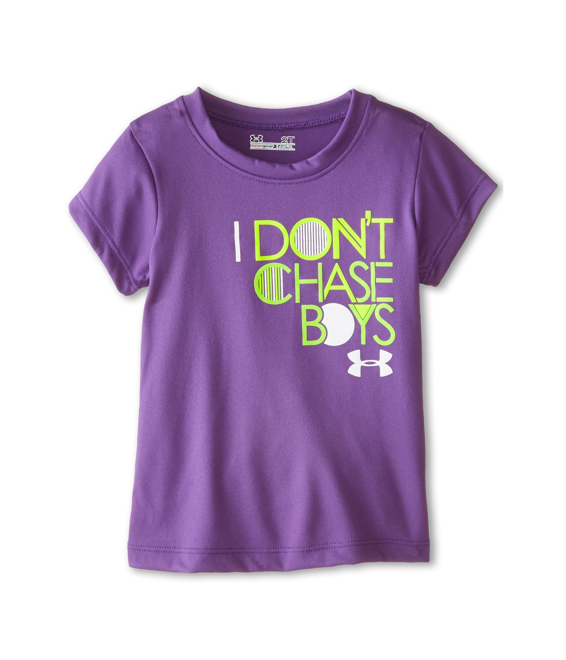 Under Armour Kids Don T Chase Boys Short Sleeve T Shirt