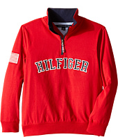 Tommy Hilfiger Kids - Half Zip Pullover Sweater (Big Kids)