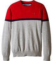 Tommy Hilfiger Kids - Long Sleeve Pete Crew Sweater (Big Kids)
