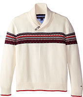Tommy Hilfiger Kids - Long Sleeve Fair Isle Sweater (Big Kids)