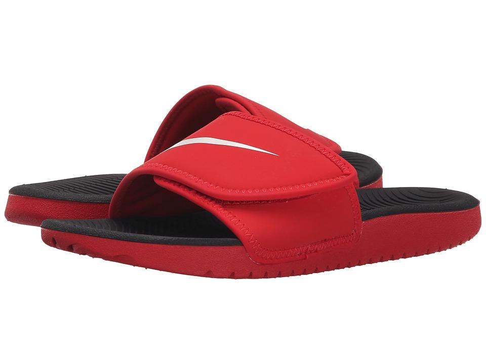 Nike Kids Kawa Adjust (Little Kid/Big Kid) (University Red/White) Boys Shoes
