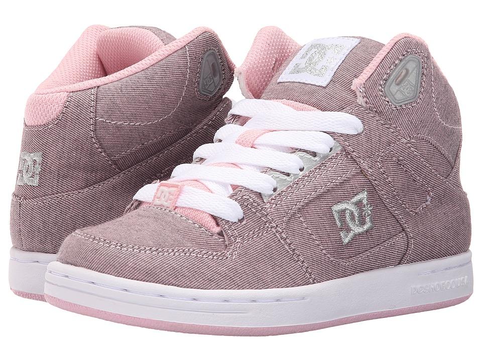 DC Kids Rebound SE TX Little Kid Pink/Metallic Girls Shoes