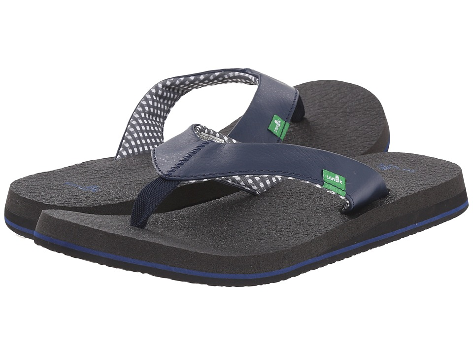 Sanuk Yoga Mat Navy Womens Sandals