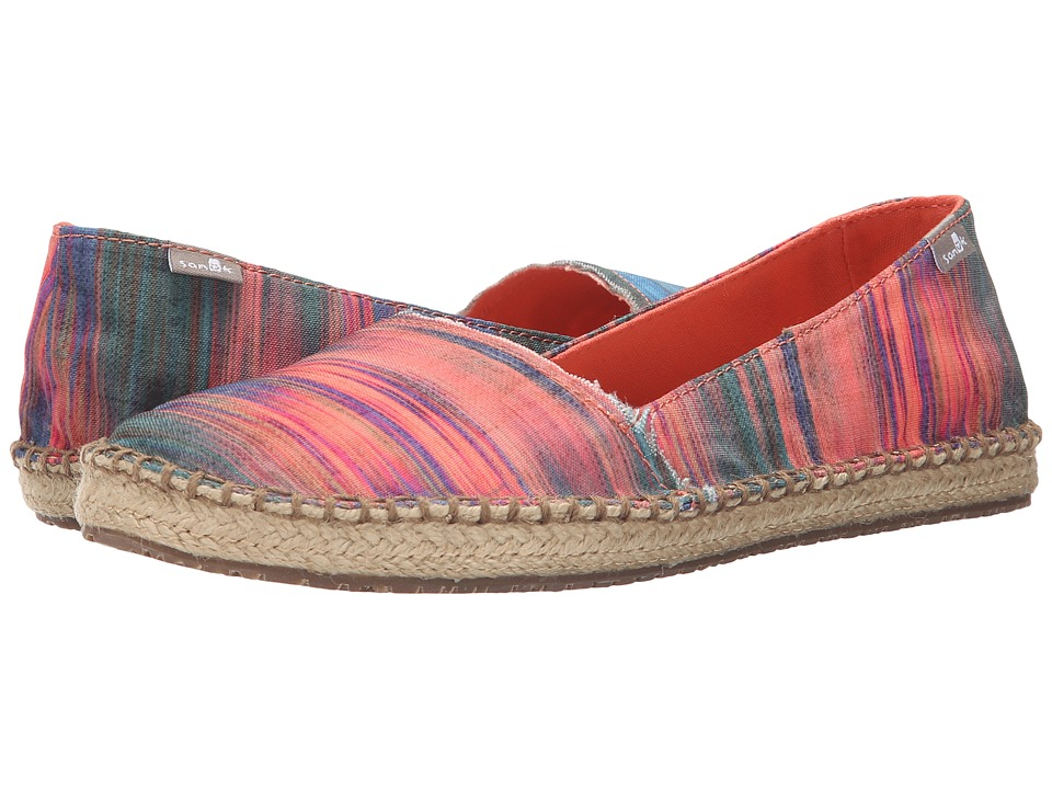 Sanuk Natal Multi/Ikat Womens Flat Shoes