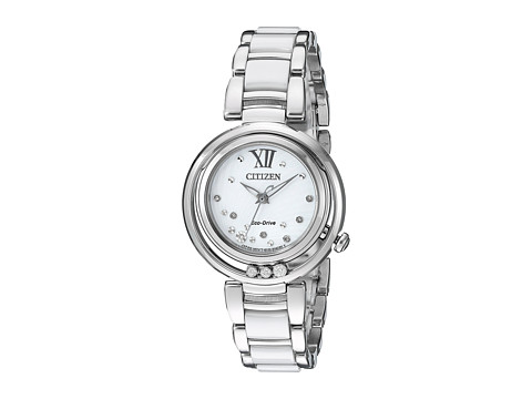 Citizen Watches EM0320-83A Sunrise - Silver Tone Stainless Steel