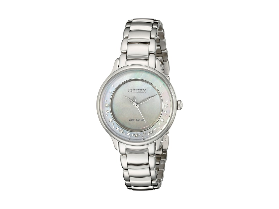 Citizen Watches - EM0380-81N Circle Of Time (Silver Tone ...