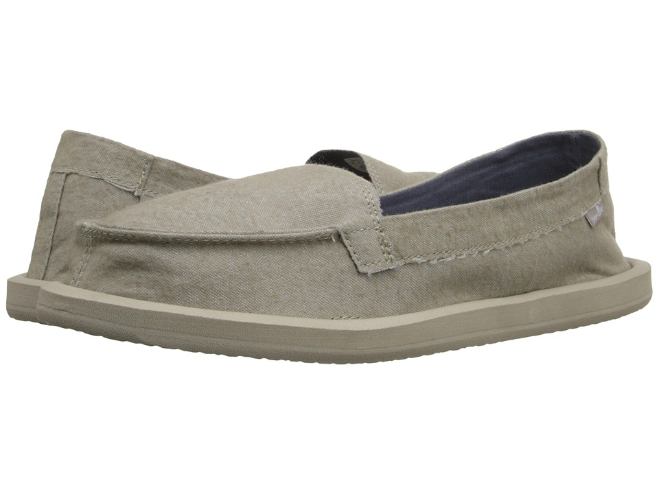 Sanuk - Shorty TX (Natural Chambray) Women