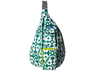 KAVU Rope Bag (Forest Blot)