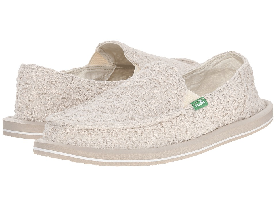 Sanuk - Donna Knit Stitch (Natural) Women