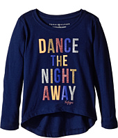 Tommy Hilfiger Kids - Dance The Night Away Long Sleeve Tee (Little Kids)