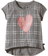 Tommy Hilfiger Kids - Heart On Plaid Tee (Little Kids)