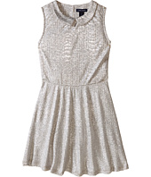Tommy Hilfiger Kids - Collared Metallic Dress (Little Kids)