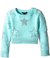 Tommy Hilfiger Kids - Crop Lurex Star Intarsia Sweater (Little Kids)