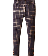Tommy Hilfiger Kids - Foil Plaid Print Leggings (Little Kids)