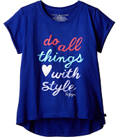 Tommy Hilfiger Kids - Do All Things with Style Tee (Big Kids)