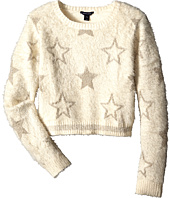 Tommy Hilfiger Kids - Crop Lurex Star Intarsia Sweater (Big Kids)
