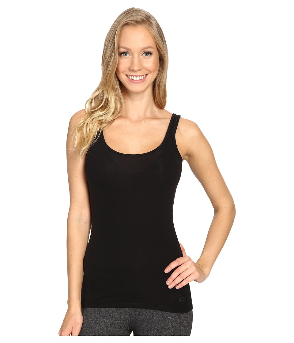 Icebreaker - Siren Merino Tank Top (Black) Womens Sleeveless