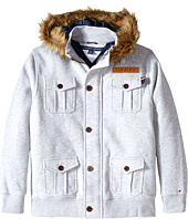 Tommy Hilfiger Kids - Fleece Jacket with Fur (Big Kids)