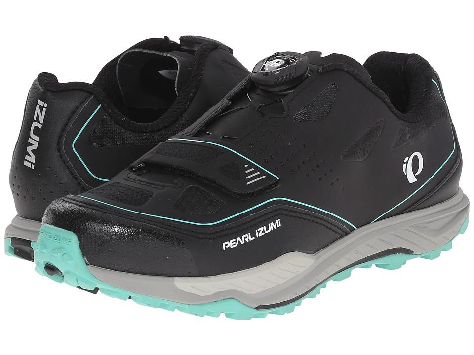 Pearl Izumi X Alp Launch II Black/Shadow Grey Womens Cycling Shoes