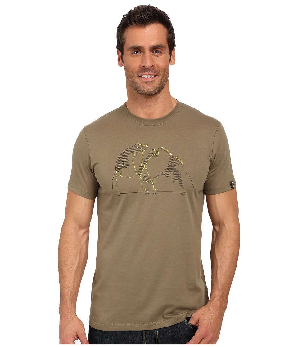 Arcteryx 3 Peaks Short Sleeve Crew Pangea Mens Clothing