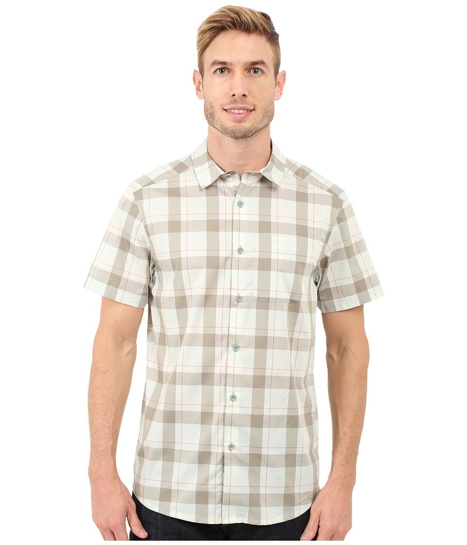 Arcteryx Brohm Short Sleeve Shirt Hemingray/Light Carbide Mens Clothing